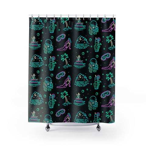 """CREATURE"" Shower Curtain"