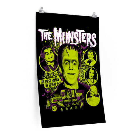 """MUNSTERS"" Poster"