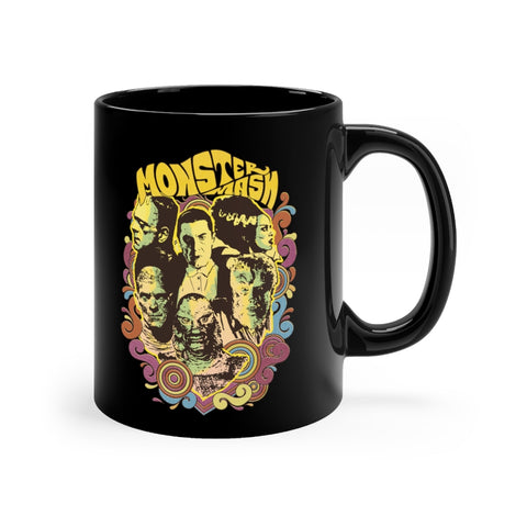 """Monster Mash"" Black mug 11oz"