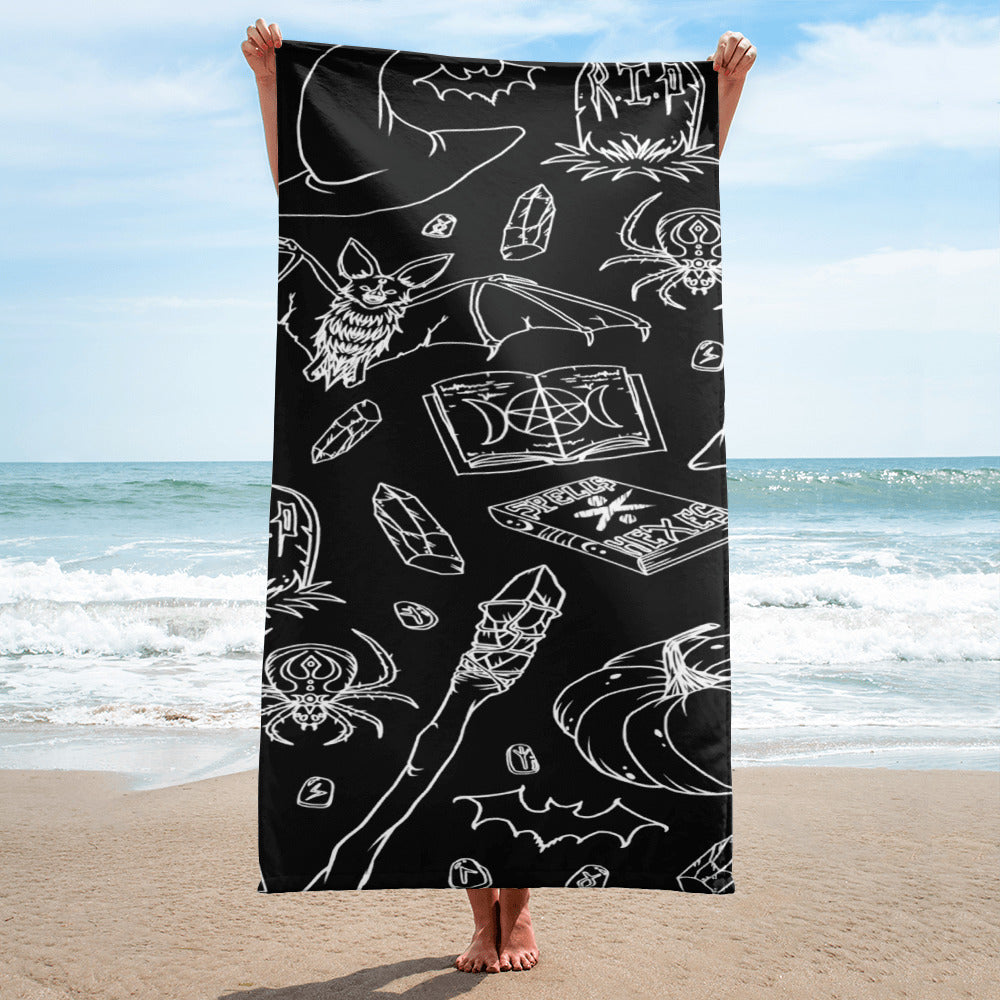 """Witch Essentials"" Towel"