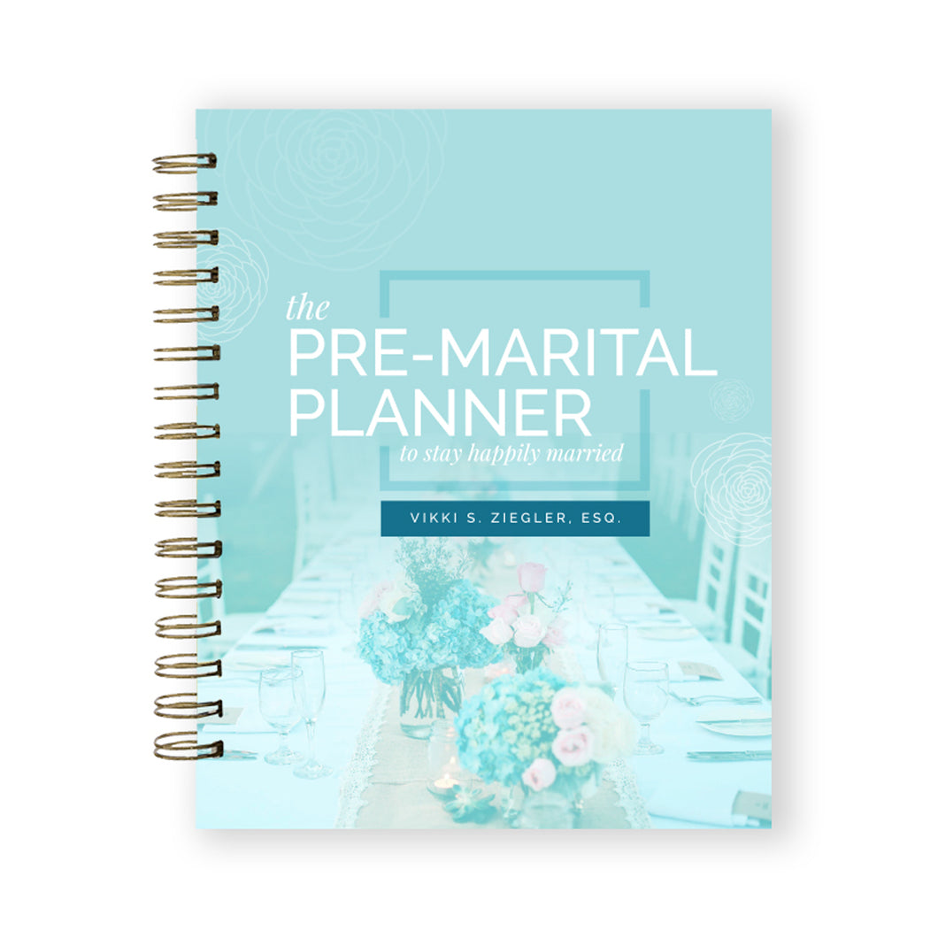 The Pre-Marital Planner Journal