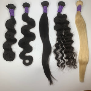 Hair Extension Vendor Sample Kit