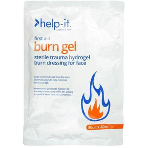 Help-It Burn Dressing 30x40cm Face Mask