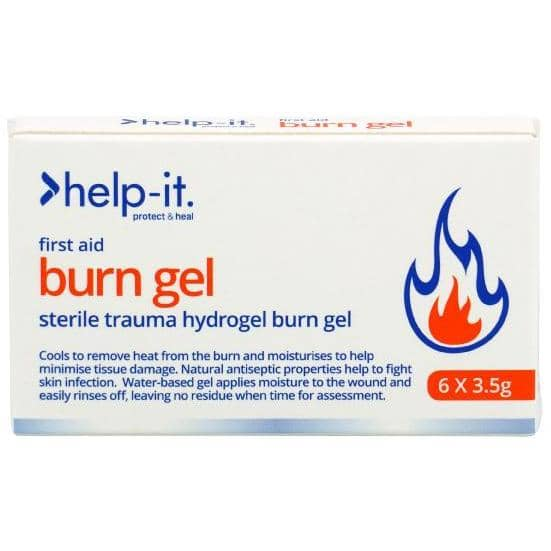 Help-It Burn Gel Sachet 3.5g - Box of 6