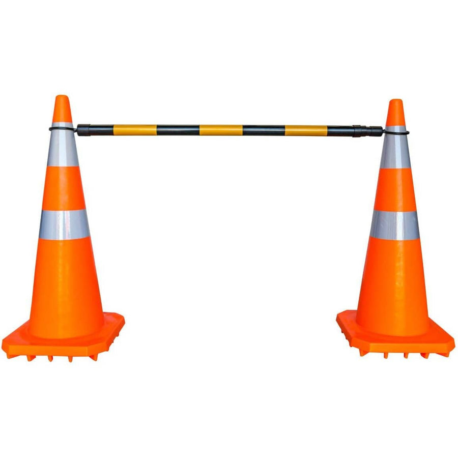 Cone Bar - Heavy Duty PVC Retractable Barrier 1.3-2.2m