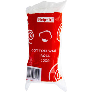 Help-It Cotton Wool Roll - Various Weights