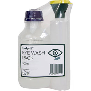 Eye Wash Bottle with Saline