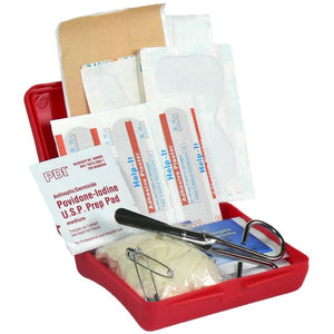 Help-It First Aid Essentials Kit - Red Box Options