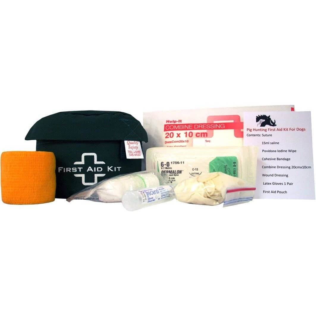 Help-It Pig Hunting First Aid Kit for Dog
