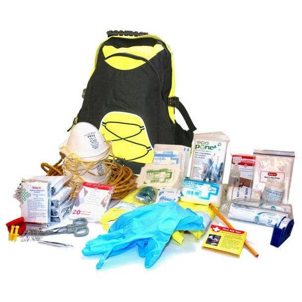 QSi One Person Ready To Run Survival Kit in Backpack