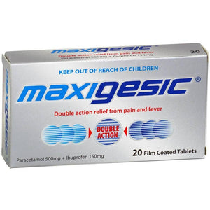 Maxigesic Tablets, Pack of 20