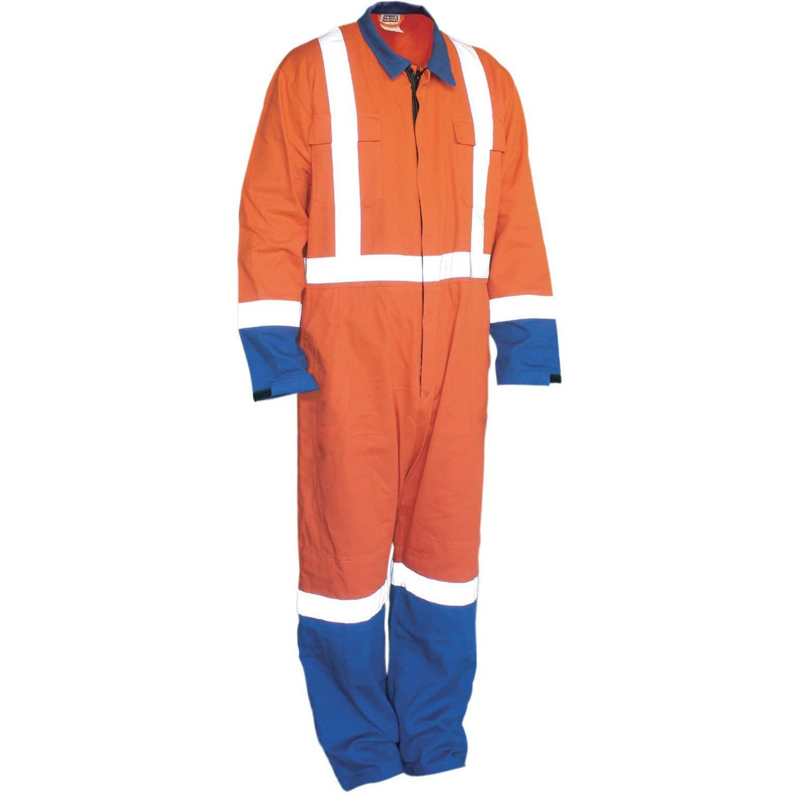 Ironwear 100% Cotton Hi Vis Overalls
