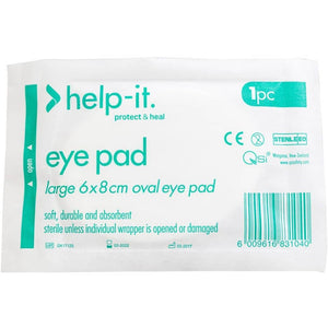 Help-It Eye Pad Sterile