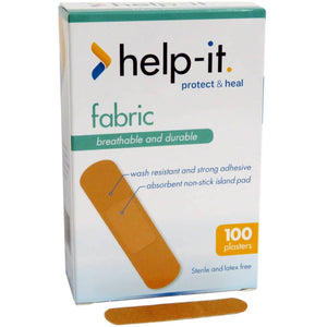 Help-It Fabric Regular Plasters