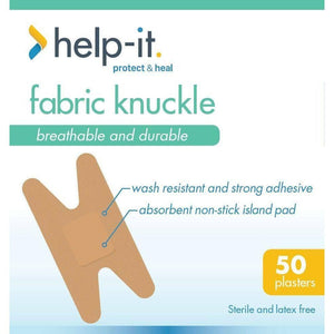 Help-It Fabric Knuckle Plasters