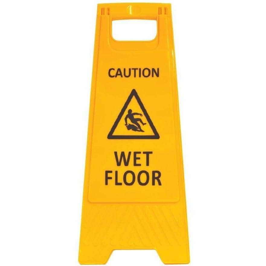 CAUTION WET FLOOR - A-frame Sign