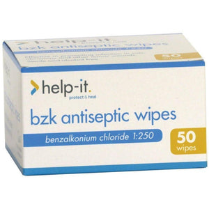 Help-It Antiseptic Wipes