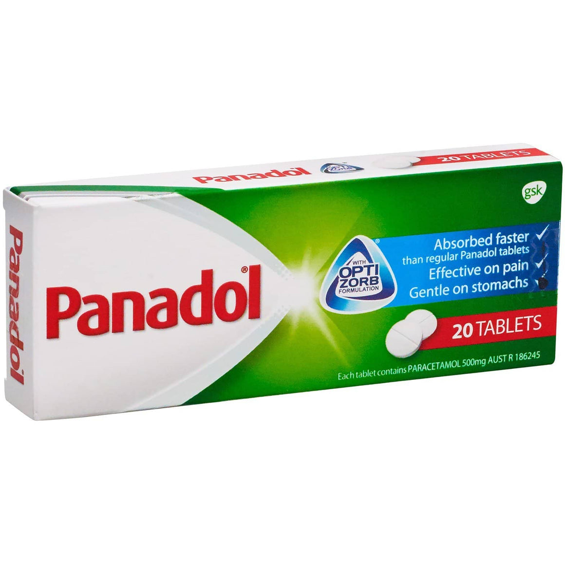 Panadol Optizorb Tablets, Pack of 20