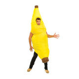 Funnyinflatable Halloween Banana Inflatable Costume Cosplay Full Body Food Fruit Fancy Dress Blow Up Jumpsuit For Adult