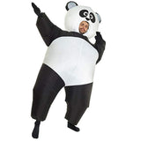 Funnyinflatable Halloween Christmas Giant Panda Inflatable Costume Full Body Blow Up Suit Cosplay Party Toy Fancy Dress For Adults