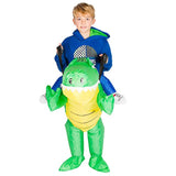Funnyinflatable Halloween Crocodile Ride On Inflatable Costume Horror Cosplay Party Toy Blow Up Suit Fancy Dress For Kids Adults