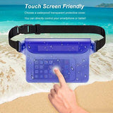 Funnyinflatable Waterproof Pouch Safe & Dry Bag With Adjustable Waist Strap Perfect Dry Bag for Boating Swimming Snorkeling Fishing Sailing Beach Water Parks