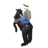 Funnyinflatable Halloween Rider Horse Cowboy Inflatable Costume Cosplay Fancy Dress Party Birthday Blow up Suit For Adults