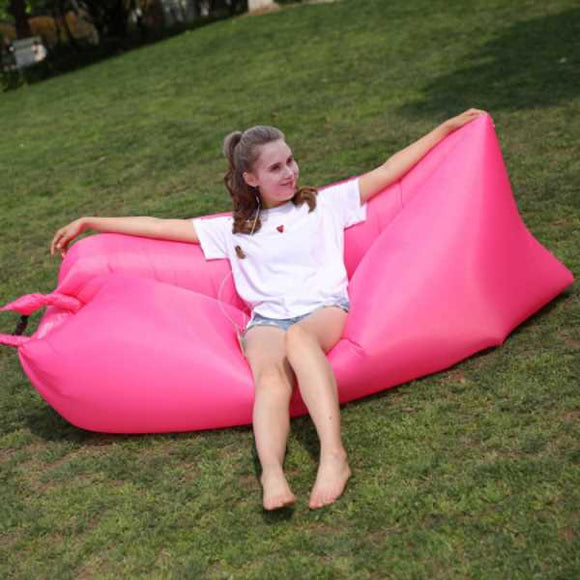 Funnyinflatable Inflatable Air Couch Sofa Lounger Portable