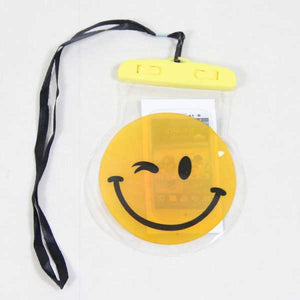 Funnyinflatable Comic Print Waterproof Phone Pouch Dry Bag With Neck Strap