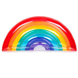 Funnyinflatable Floating Pad Rainbow Shape Floating Bed Summer Outdoor Beach Swimming Row Inflatable Water Hammock Fun Toy