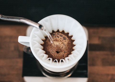 Pour-over-coffee