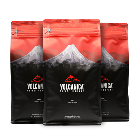 3 Pack Coffee Bundles - Volcanica Coffee