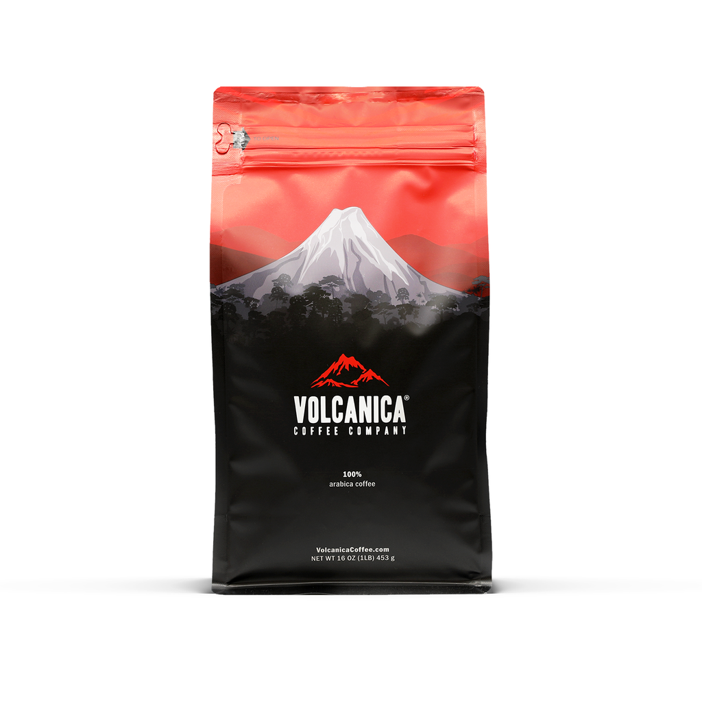 Toasted Almond Flavored Decaf Coffee - Volcanica Coffee