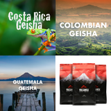 Geisha Coffee Gift Box - Volcanica Coffee