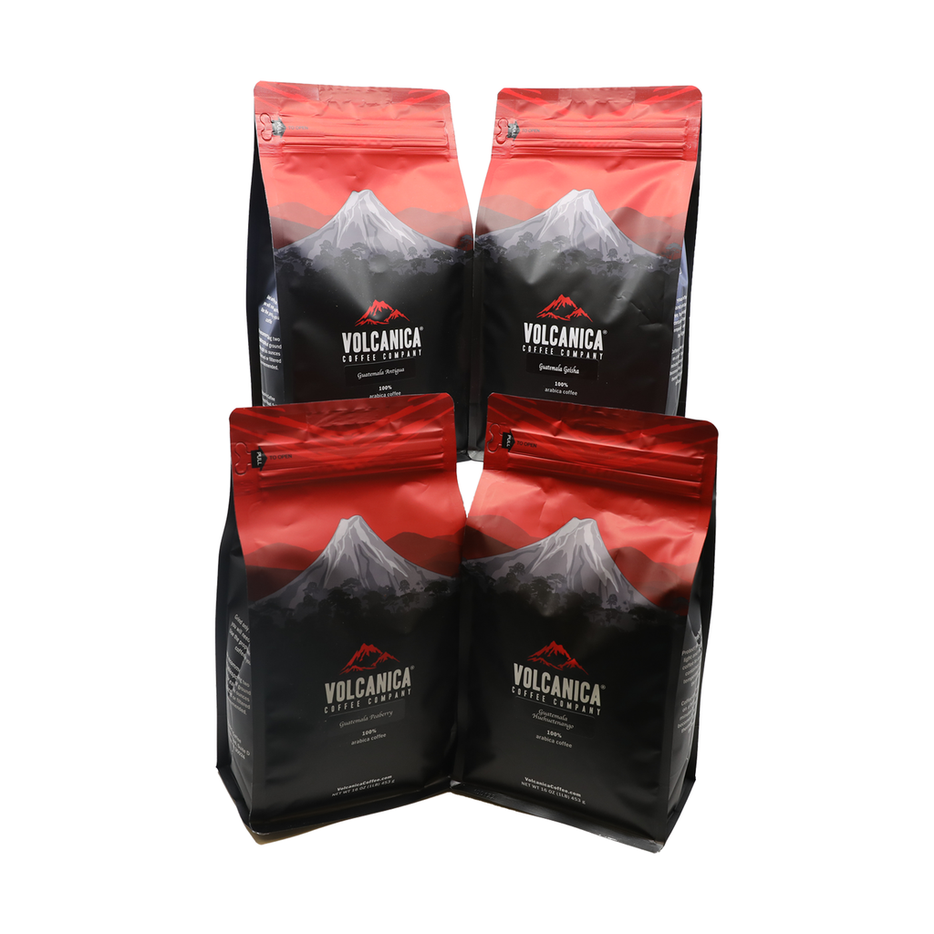 Guatemalan Coffee Bundle, 4 Pack - Volcanica Coffee