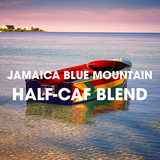 Jamaica Blue Mountain Half Caff Coffee Blend - Half Decaf Blue Mountain