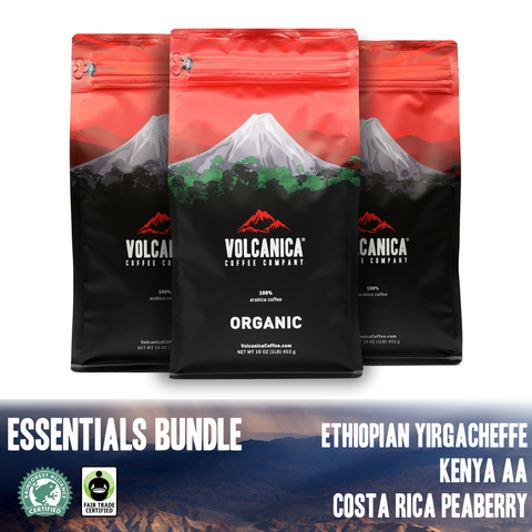 Essential Coffee Bundle - Volcanica Coffee