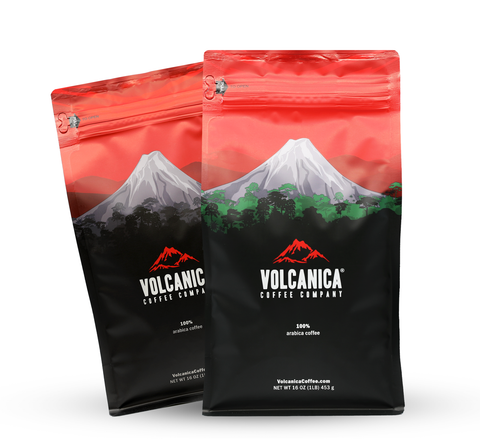 2-Pack Bundle - Ethiopia Yirgacheffe & Kenya AA (10% Discount) 16 oz each - Volcanica Coffee