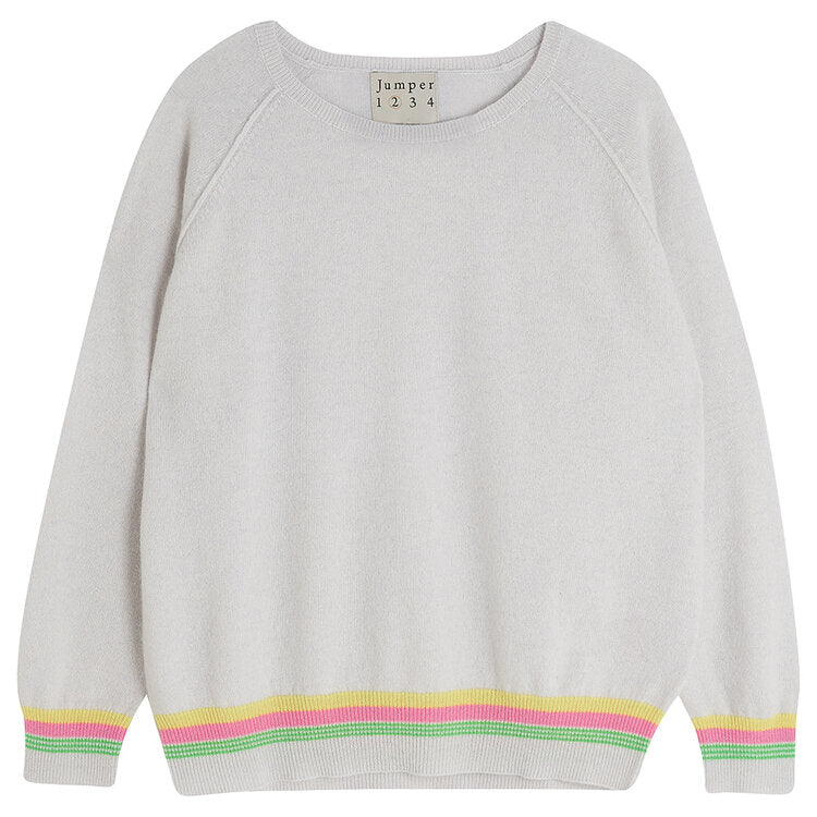 Mini Super Stripe Cashmere Jumper