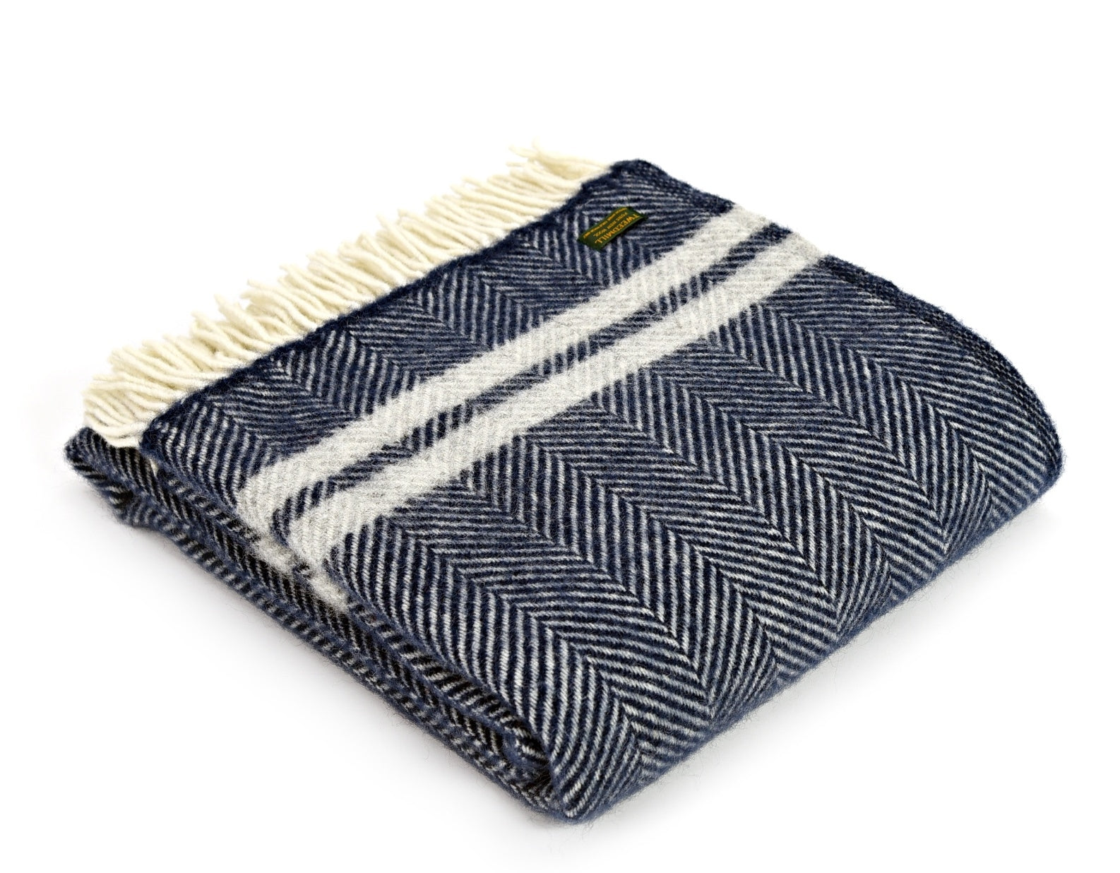 Fishbone 2 Stripe Throw