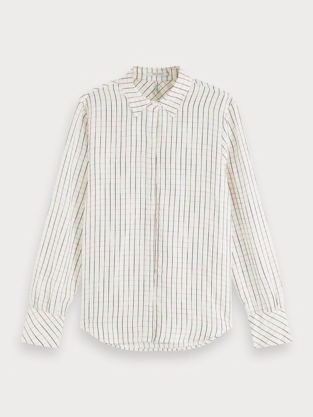 Space Dye Checked Shirt