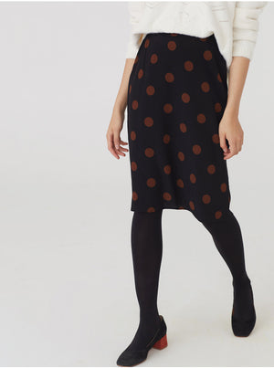 Nice Things polka dot skirt