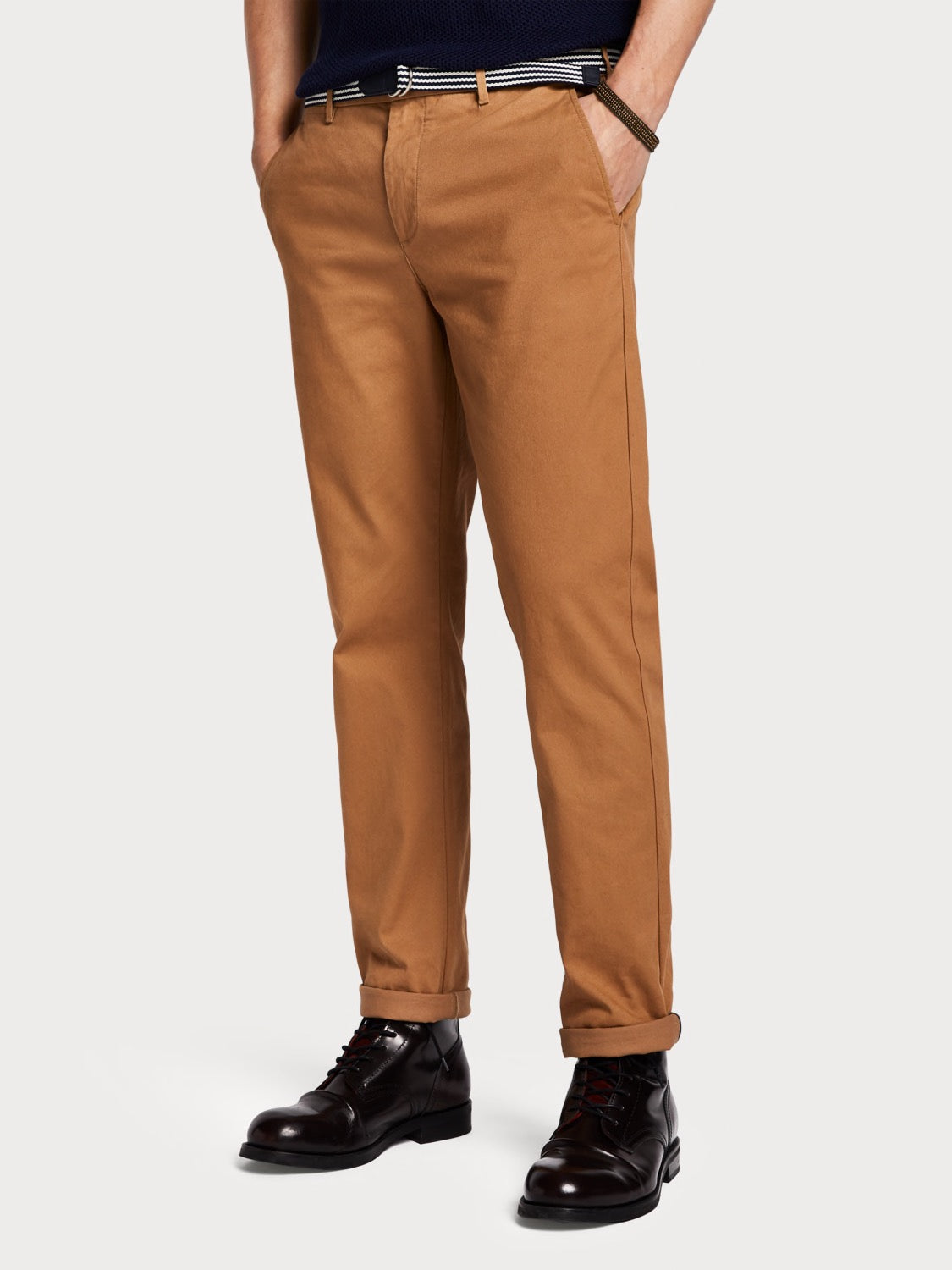 Stuart - Peached Chinos