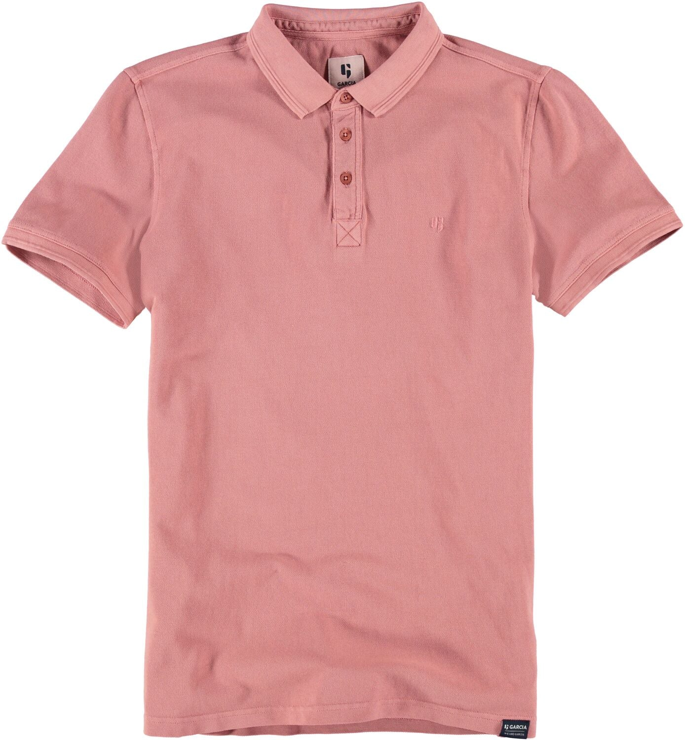 Garcia Mens Polo Coral Reef