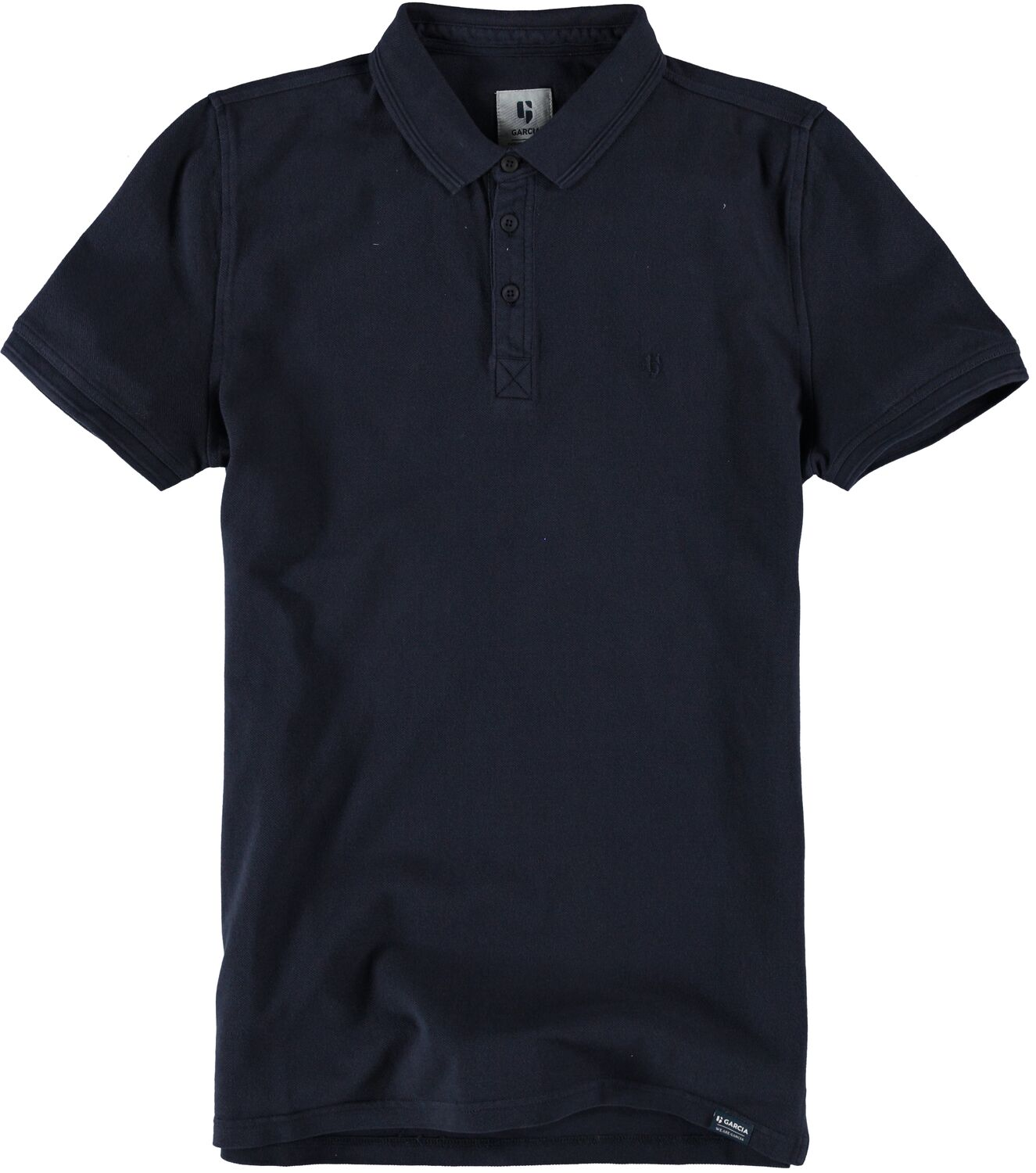 Garcia Mens Polo Dark Moon