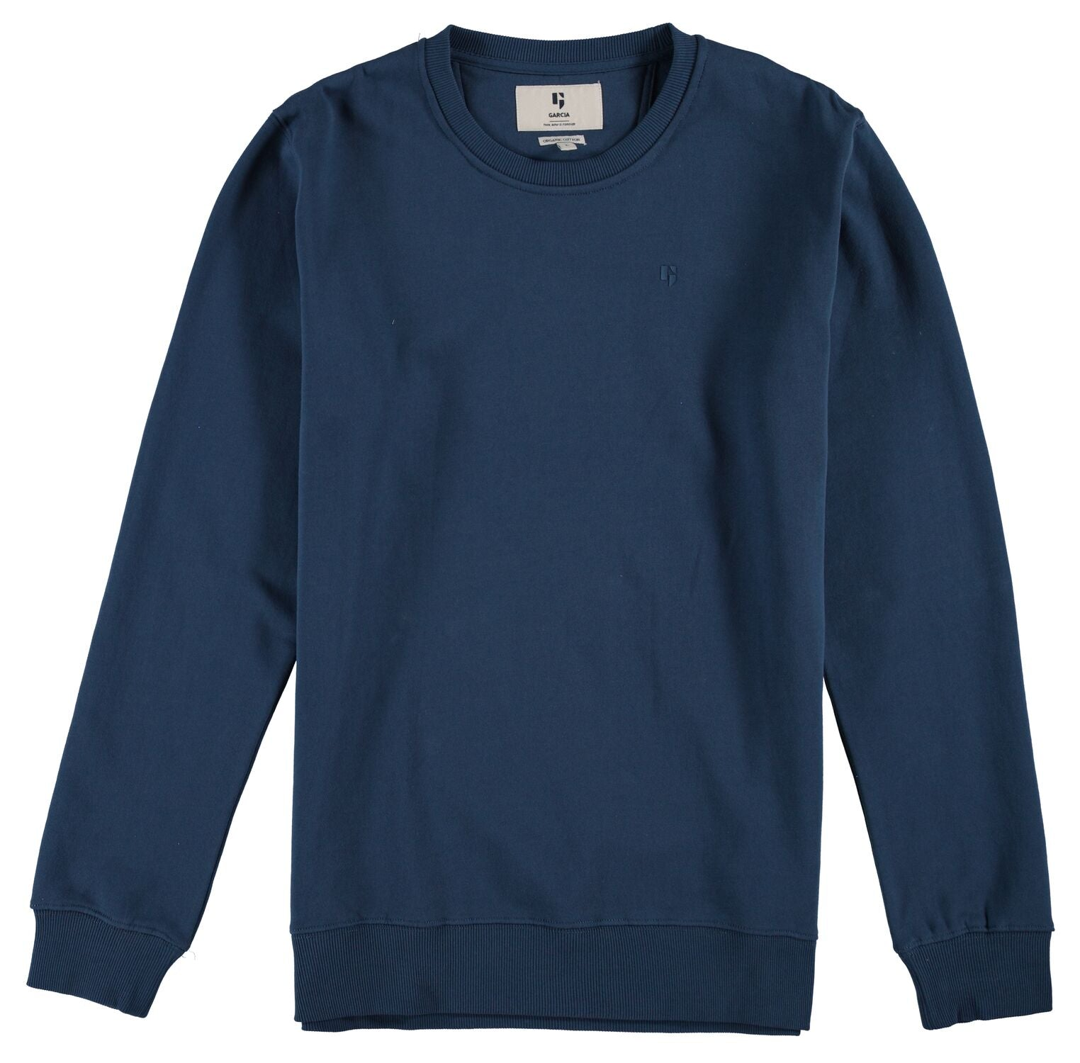 Men's Organic Sweat Navy by Garcia