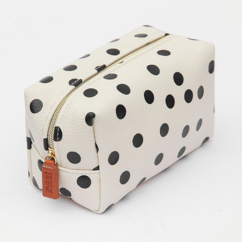 Scattered Spot Cube Cosmetic Bag