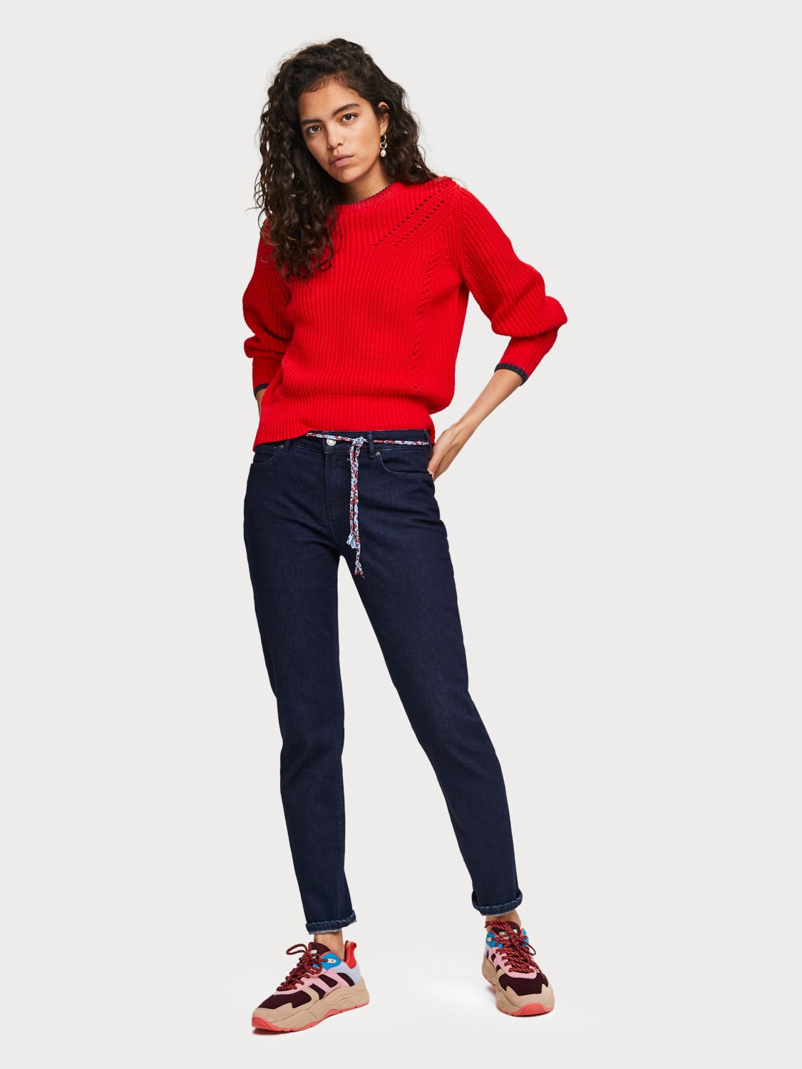 The Keeper - Mid Rise Jeans