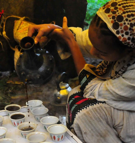 Coffee Ceremony Ethiopia