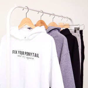 Fix Your Ponytail Sweatshirt - The Quarterly